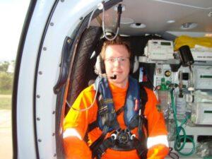 Partindo para mais um resgate em alto mar
