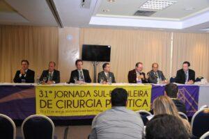 Dr. Marcio Grave na Mesa de Rinoplastia – Jornada Sul Brasileira de Cirurgia Plástica – SBCP